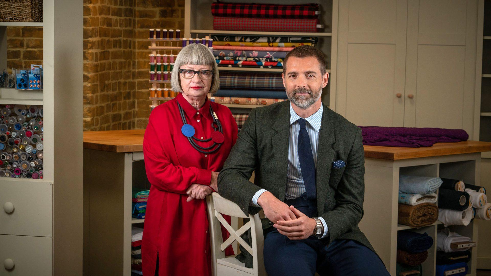 Patrick Grant and Esme Sewing Bee series 7