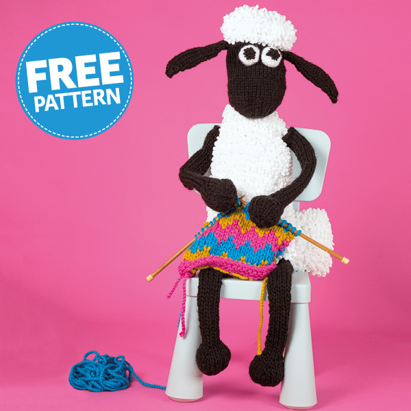 official Shaun the Sheep Free Pattern