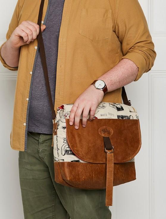 mans bag sewing pattern