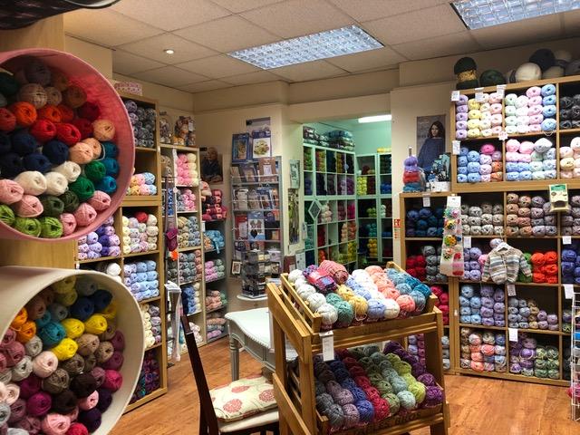 local yarn shop - crafty corner