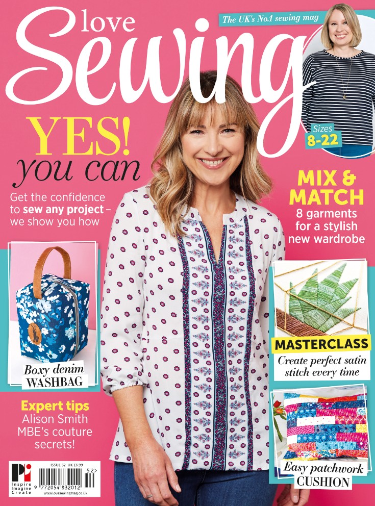 love sewing issue 52 cover