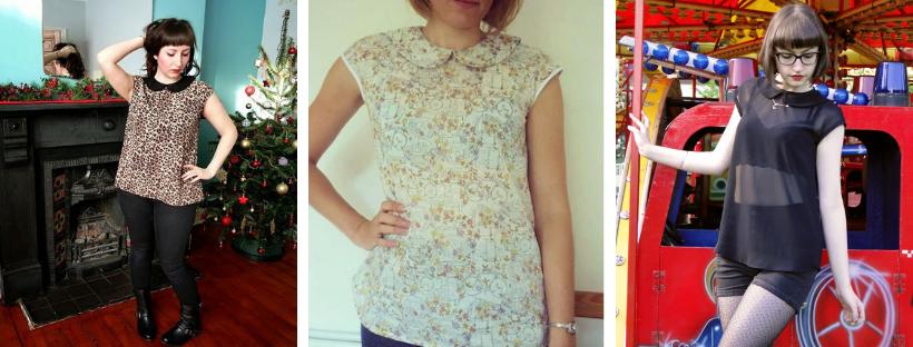 peter pan blouse sewing pattern