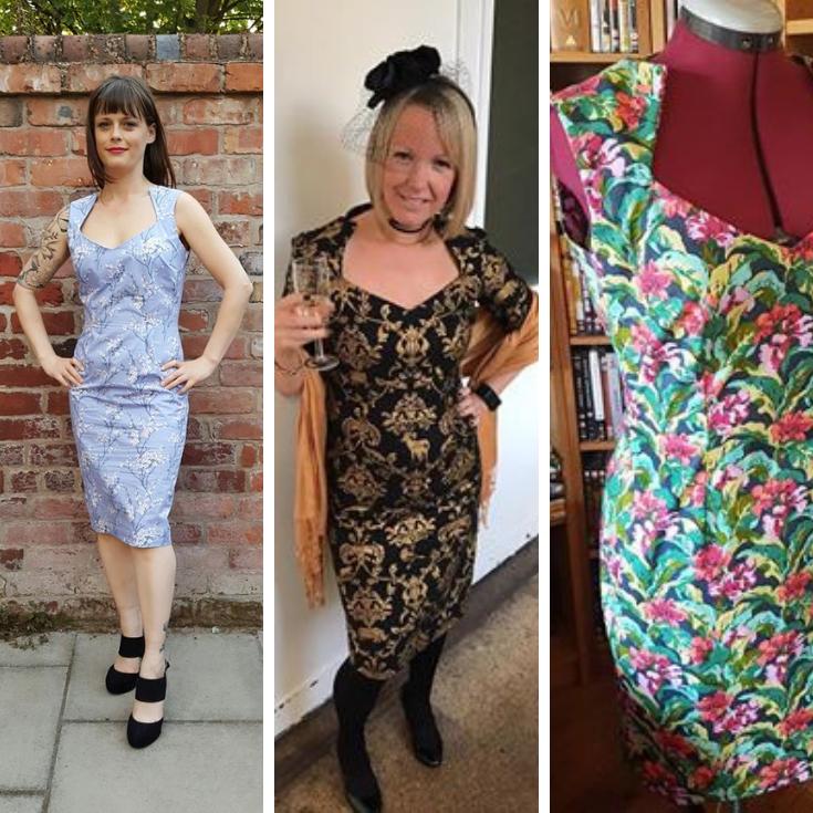 wiggle dress sewing patterns