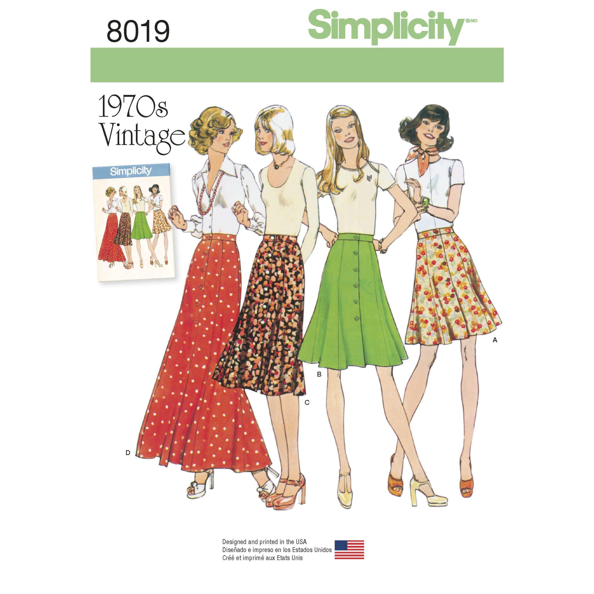 vintage seventies sewing patterns